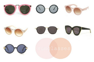 Hot sunglasses for the summer