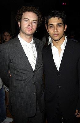 Danny Masterson, Wilmer Valderrama MTV Movie Awards - 5/31/2003