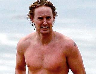 pst Owen Wilson Swims