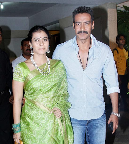 Bollywood real couple Kajol-Ajay