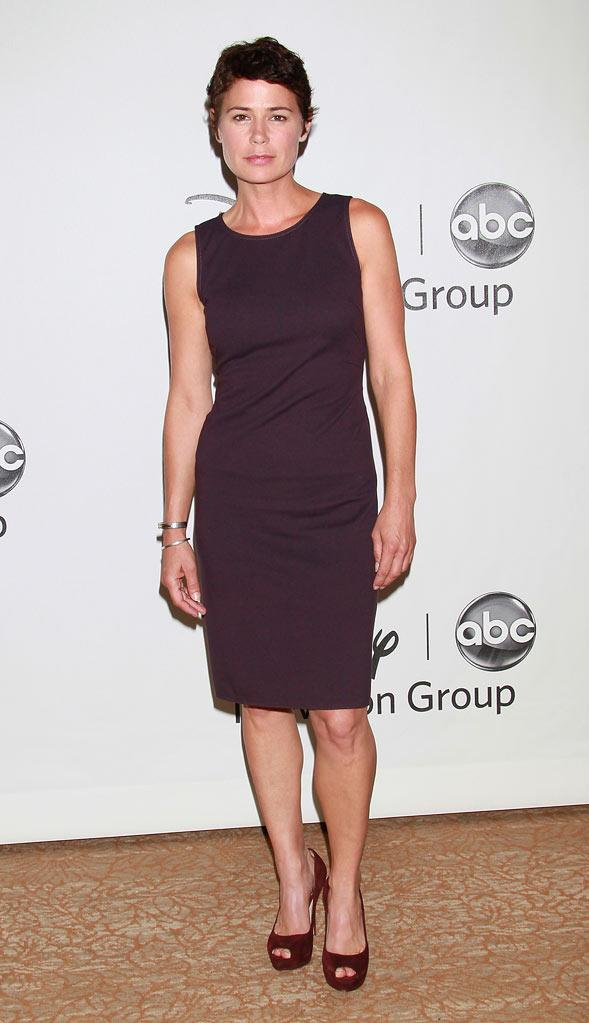 """The Whole Truth's"" Maura Tierney arrives at NBC Universal's 2010 TCA Summer Party on July 30, 2010 in Beverly Hills, California."