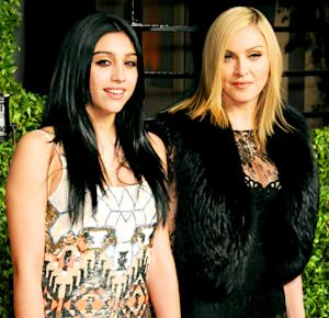 "Madonna Jokes That Lourdes ""Stopped Talking"" to Her, Rocco is ""Looking at Girls' Butts"""