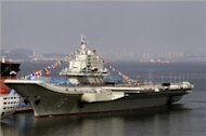 China aircraft carrier returns from training