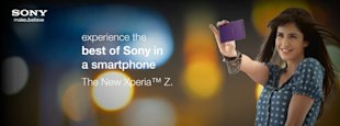 Sony Promotes Xperia Z On Social Media image Sony Xperia In Katrina kaif