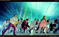 "Screenshot from the vieo ""PSY - GANGNAM STYLE (강남스타일) M/V"""