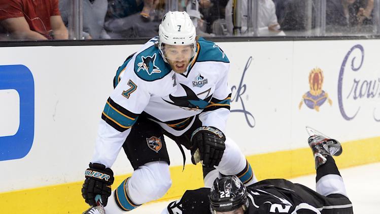 San Jose Sharks v Los Angeles Kings - Game Five