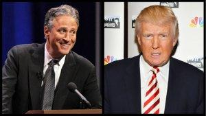 Jon Stewart vs. Donald Trump: Throwaway Joke Devolves Into Name-Calling