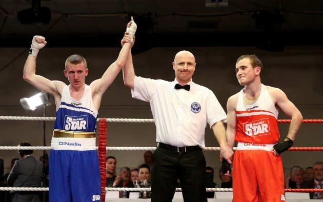 Hughie Myers and Paddy Barnes