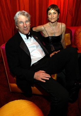 Richard Gere, Carey Lowell Elton John AIDS Foundation's Annual Viewing Party 75th Academy Awards - 3/23/2003