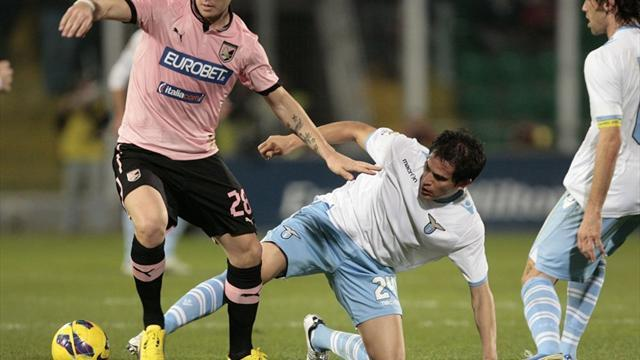 Serie A - Palermo and Lazio in four-goal thriller