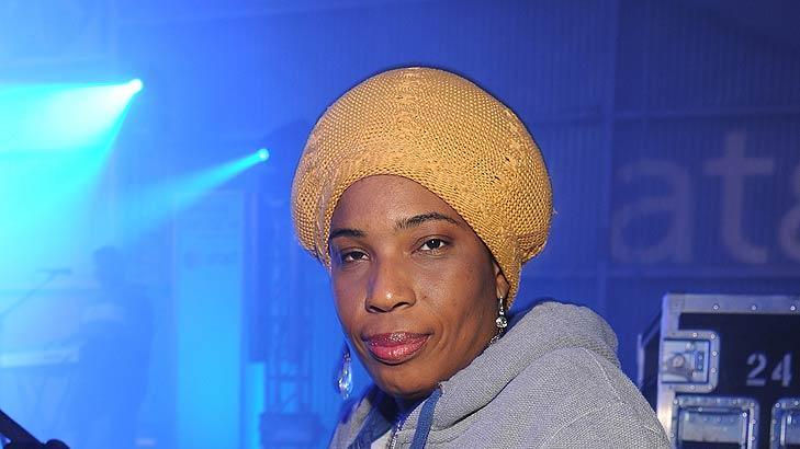 Macy Gray Samsung Party