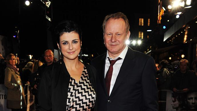 The Girl with the Dragon Tattoo 2011 UK Premiere Stellan Skarsgard