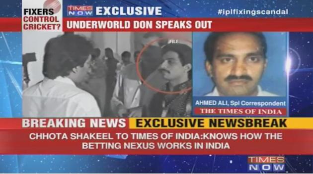 Chhota Shakeel to TOI: Not involved in fixing