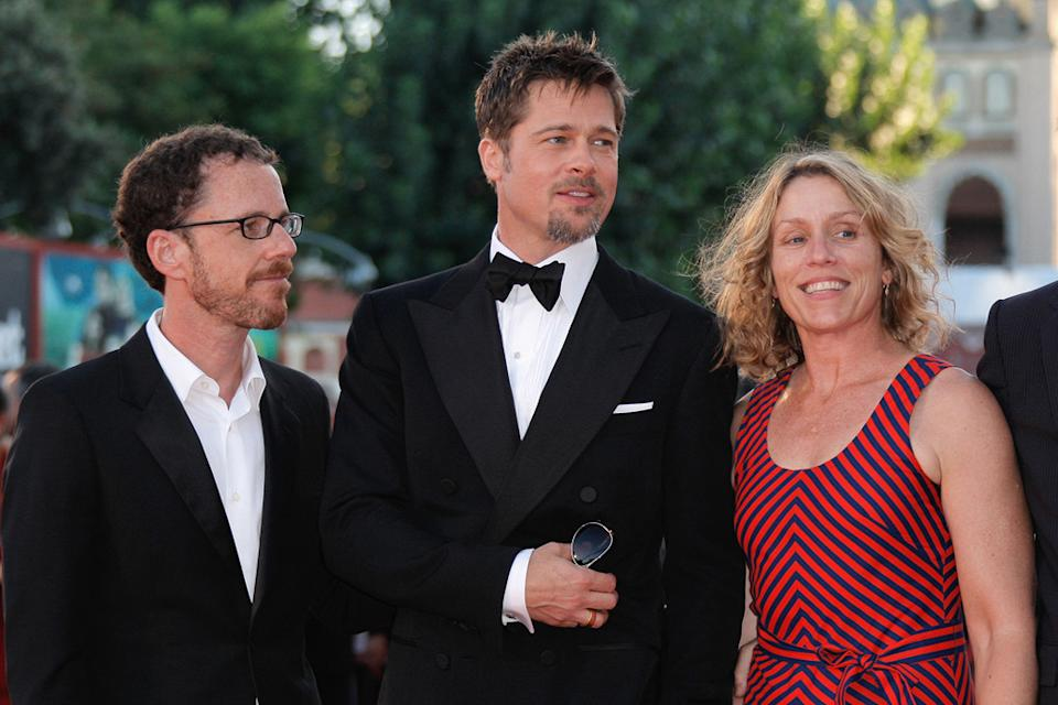 Venice Film Festival 2008 Burn After Reading Premiere Ethan Coen Brad Pitt Frances McDormand