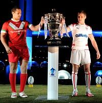 The 2013 rugby league World Cup will get under way in Cardiff on October 26