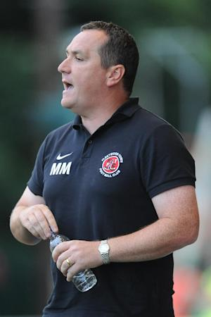 Chairman Andy Pilley would not say why Micky Mellon, pictured, was fired as manager