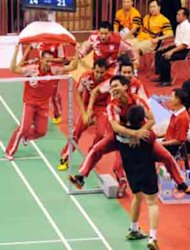 SEA Games (Bulu Tangkis) - Hasil Pertandingan Final Beregu