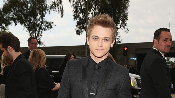 The 55th Annual GRAMMY Awards - Red Carpet: Hunter Hayes