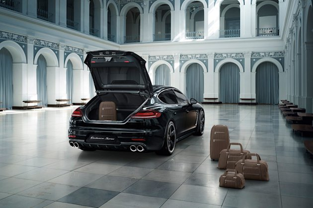 porsche panamera exclusive luggage photo