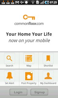 CommonFloor App Review: Property Listings On the Go With Augmented View image commonfloor