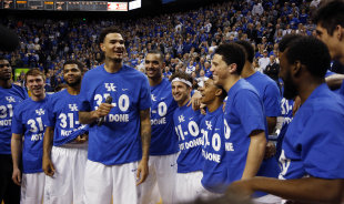 The big question: Will Kentucky stay perfect? (AP)
