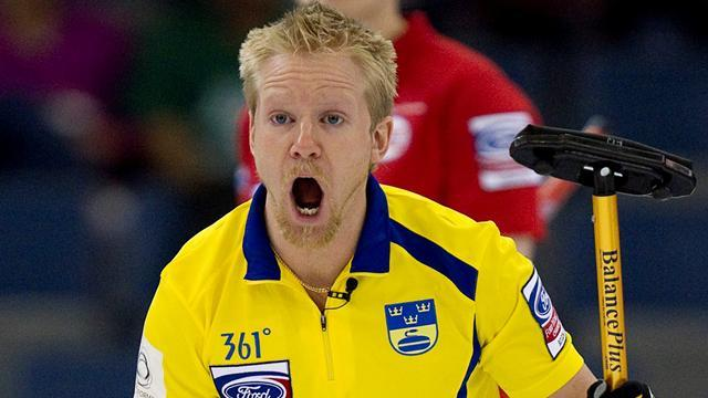 Curling - Hosts Sweden secure men's final berth
