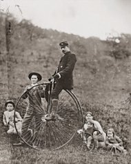 We All Have Scars image I want to ride my bicycle. Ca. 1885