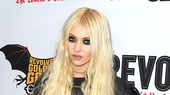 Taylor Momsen Golden God Awards