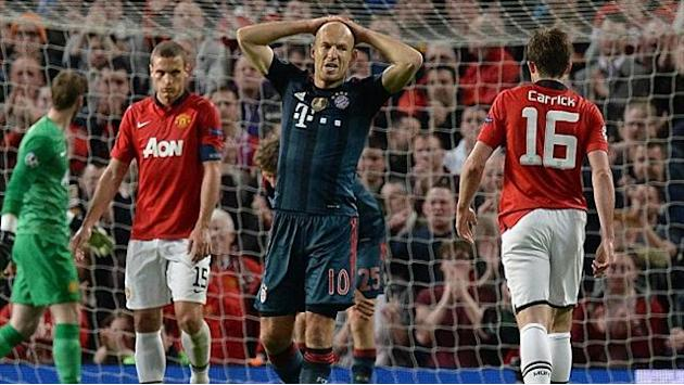Champions League - Robben: United match like handball