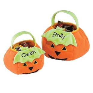 Halloween Pumpkin Trick-or-Treat Bag