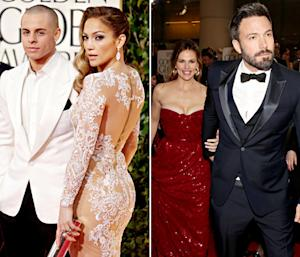 "Jennifer Lopez Was ""Beaming"" At Ex Ben Affleck During His Golden Globes Win"