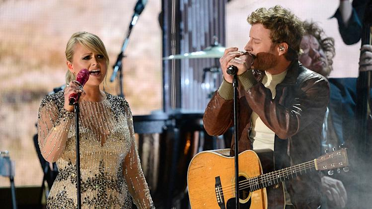The 55th Annual GRAMMY Awards - Show: Miranda Lambert and Dierks Bentley
