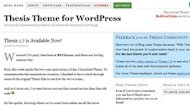 The Best WordPress Theme Framework – Genesis vs Thesis image thesis theme