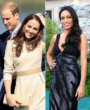 Rosario Dawson Meeting Prince William, Kate Middleton at Polo Match!