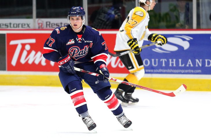 Regina's Adam Brooks has 25 points in 11 games this year. (Keith Hershmiller/Regina Pats)