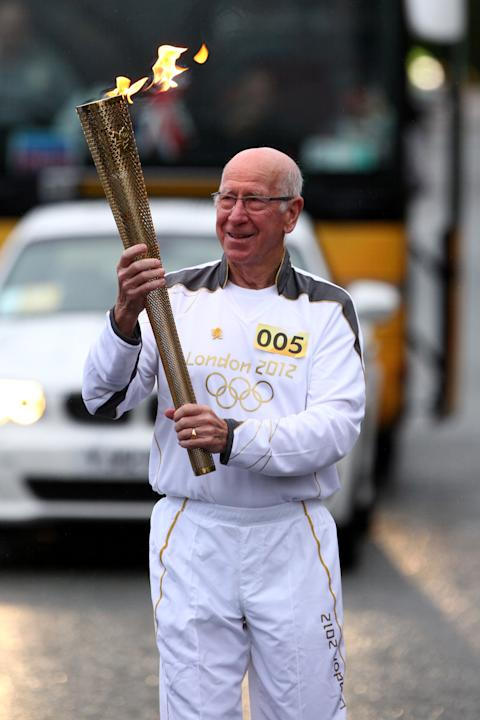 Day 37 - The Olympic Torch Continues Its Journey Around The UK