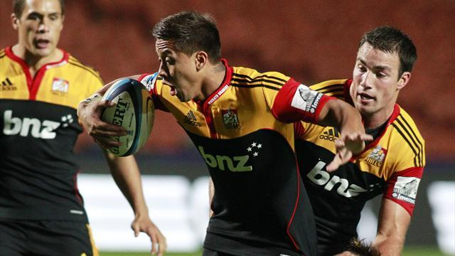 Super Rugby - Chiefs outscore Highlanders in Dunedin thriller