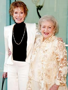 Betty White Celebrates 90th Birthday With Mary Tyler Moore, Other Pals