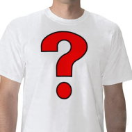 The One Question You Should Ask All of Your Customers image question mark tshirt