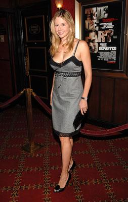 Mira Sorvino at the New York premiere of Warner Bros. Pictures' The Departed