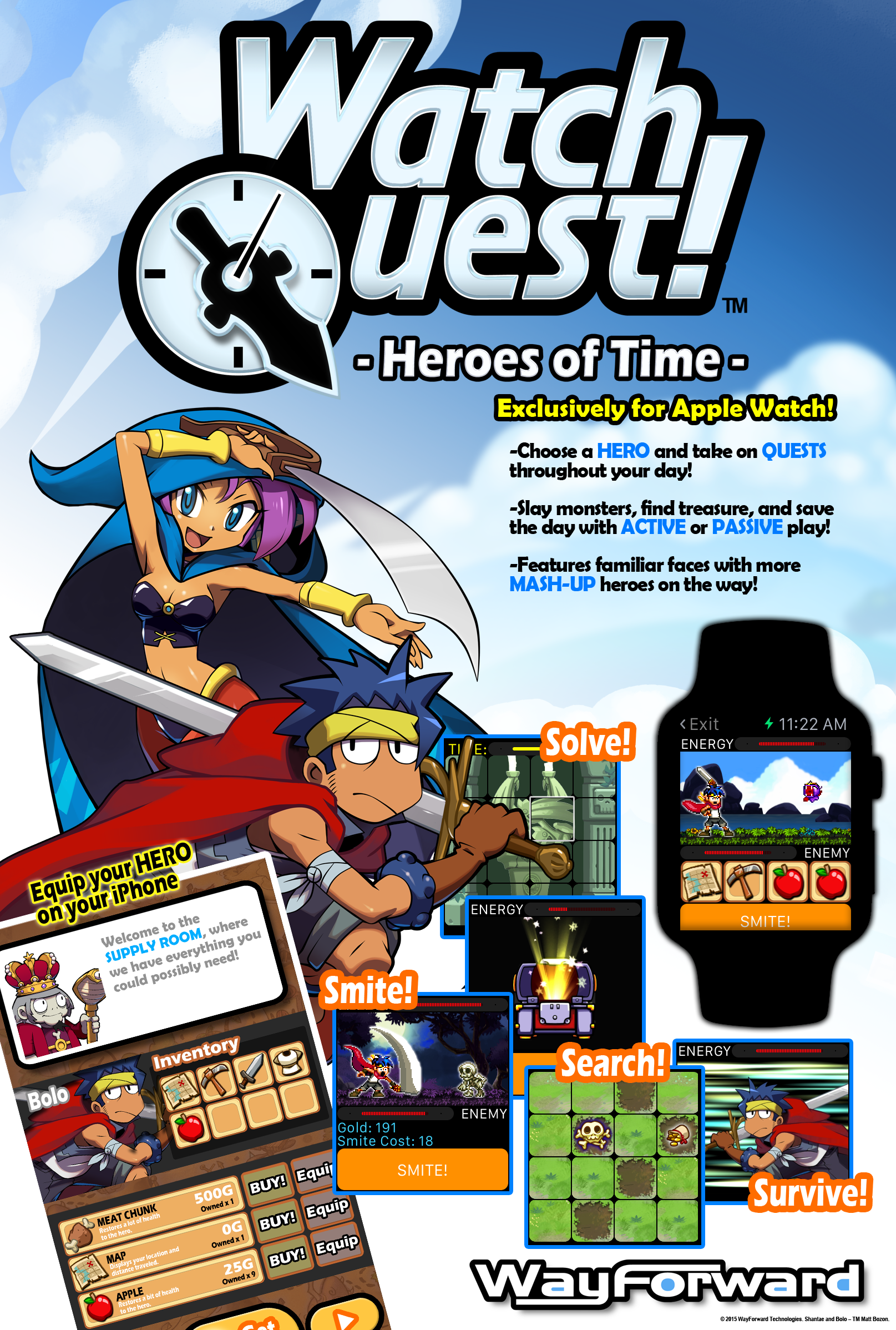 Apple Watch Poster Watch Quest Poster Apple Watch