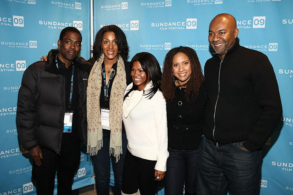 Sundance Film Festival Screening 2009 Chris Rock Sarah jones Nia Long Tracie Thomas Nelson George
