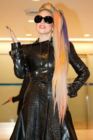 Lady Gaga Wows Crowds in Japan with Her Rainbow Hair
