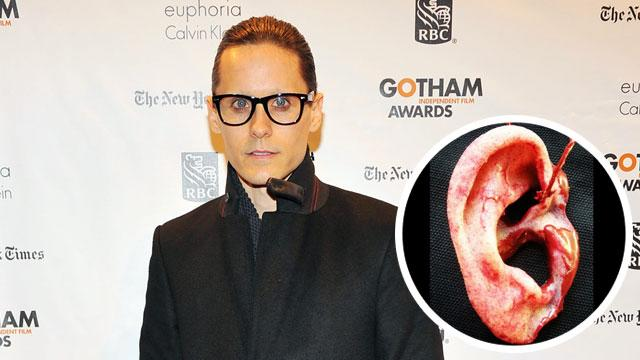 Leto Posts Pic of Fan's Severed Ear