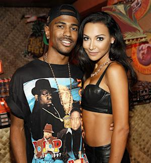 "Naya Rivera's Fiance Big Sean Is a Big Glee Fan: ""I Like How They Touch on Real Issues"""