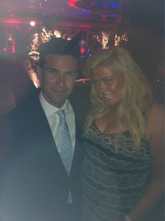 Gemma Collins, Gethin Jones, ITV Party