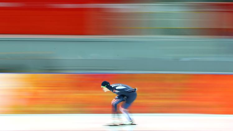 Speed Skating - Winter Olympics Day 2
