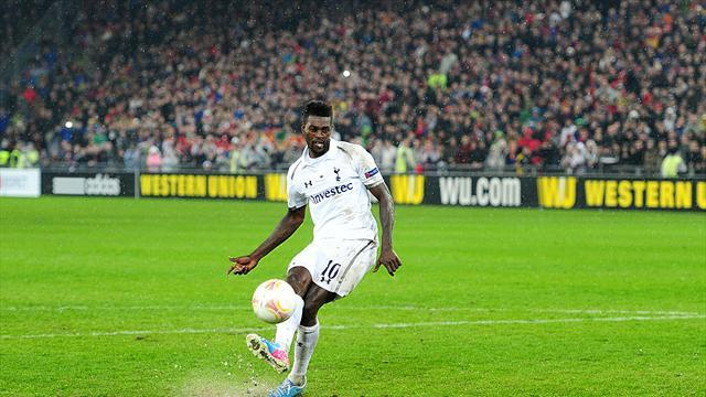 Europa League - Adebayor: Taking crucial penalty 'is not easy'