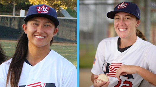 The Sonoma Stompers have signed Kelsie Whitmore and Stacy Piagno, who become the first two women in professional baseball since the 1950's.