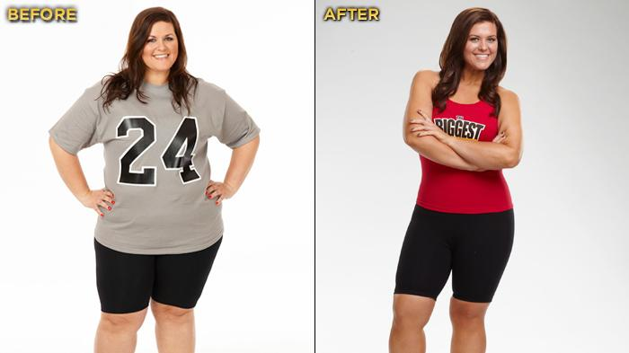 """Biggest Loser"" Season 12's Courtney Rainville started the competition at 270 lbs. and lost a total of 87 lbs."